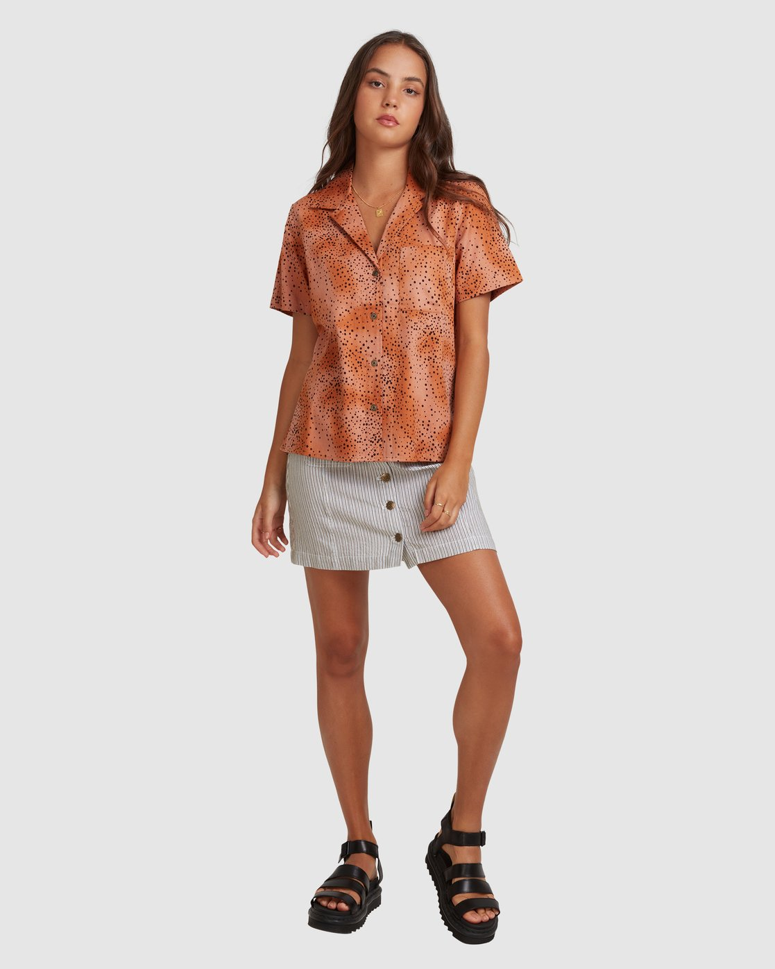 5 WILDSIDE SHIRT Brown 217212 Element