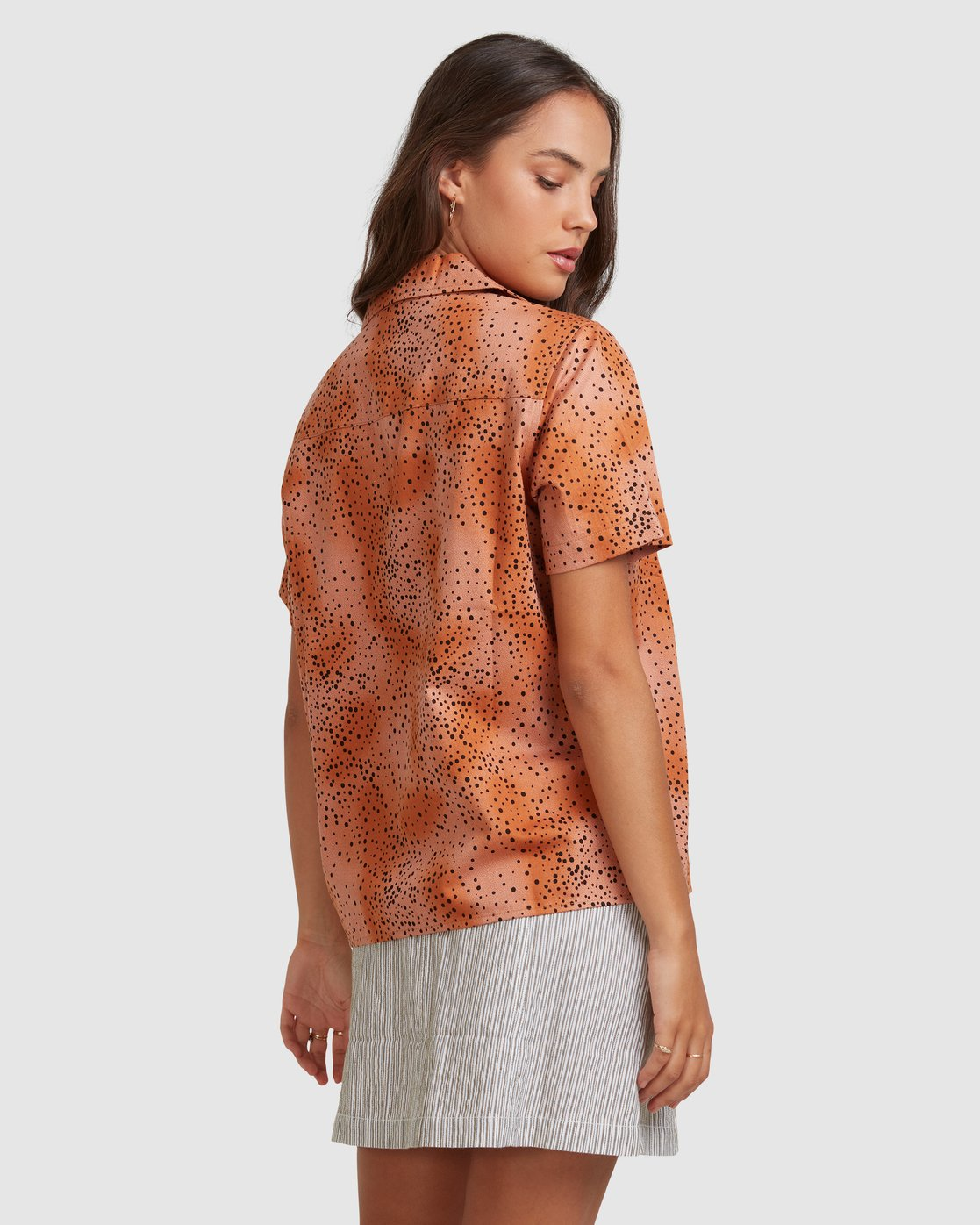 3 WILDSIDE SHIRT Brown 217212 Element