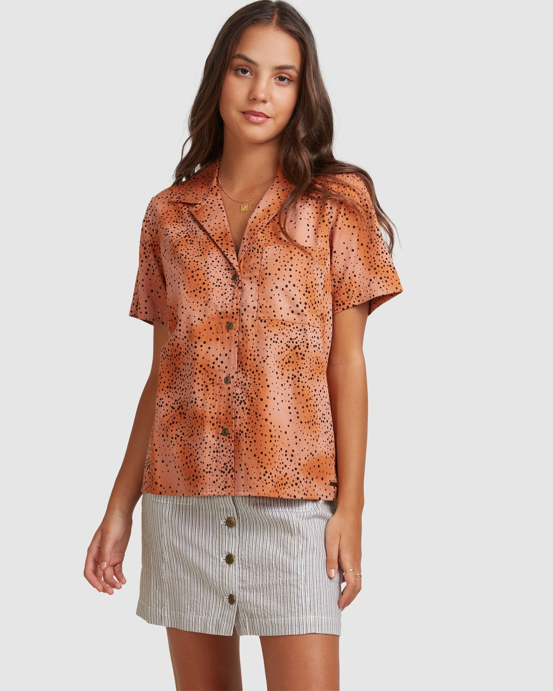 0 WILDSIDE SHIRT Brown 217212 Element
