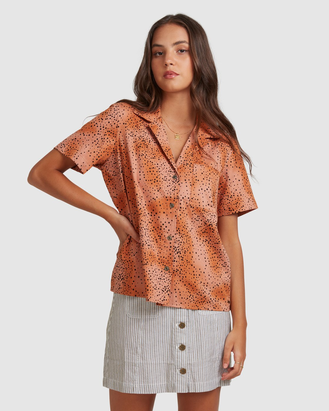 1 WILDSIDE SHIRT Brown 217212 Element