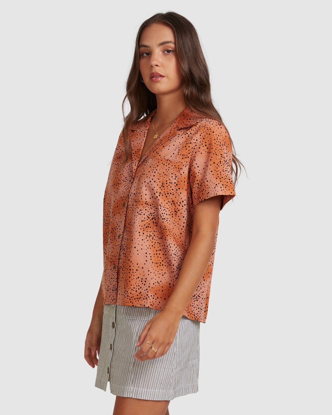 2 WILDSIDE SHIRT Brown 217212 Element