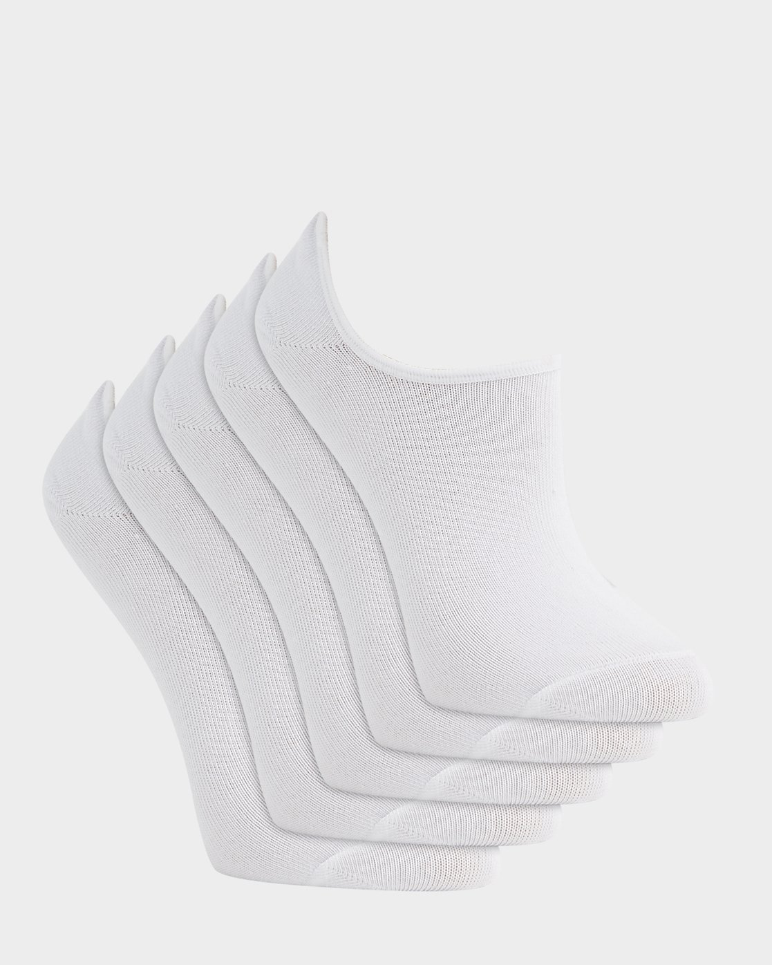 1 ELEMENT NUDIE SOCK 5 PACK White 283691 Element