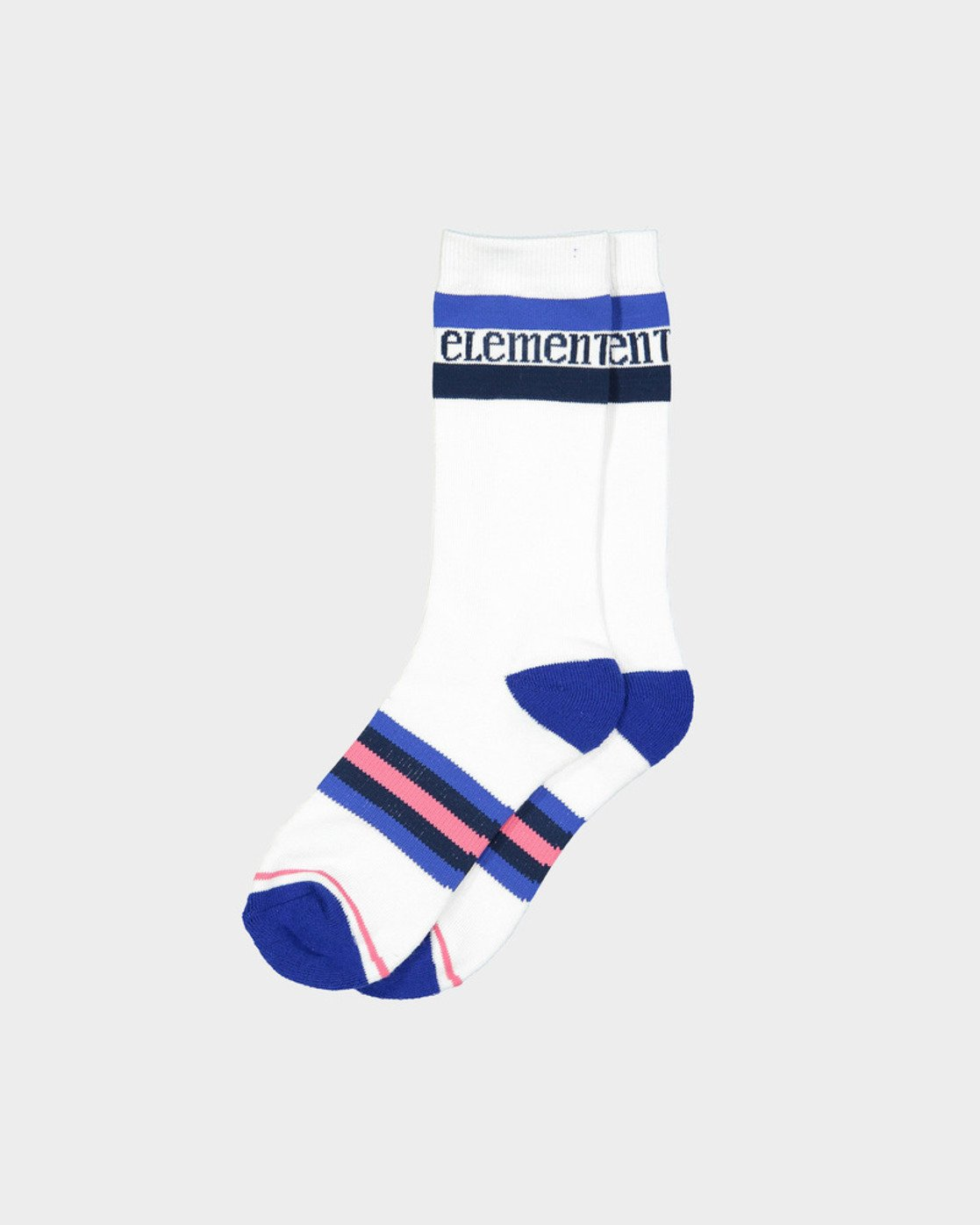 1 BLUE STRIPE SPORT SOCK White 283694 Element