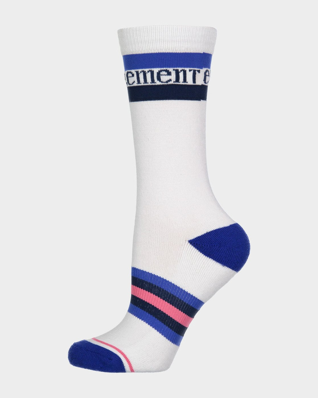 0 BLUE STRIPE SPORT SOCK White 283694 Element