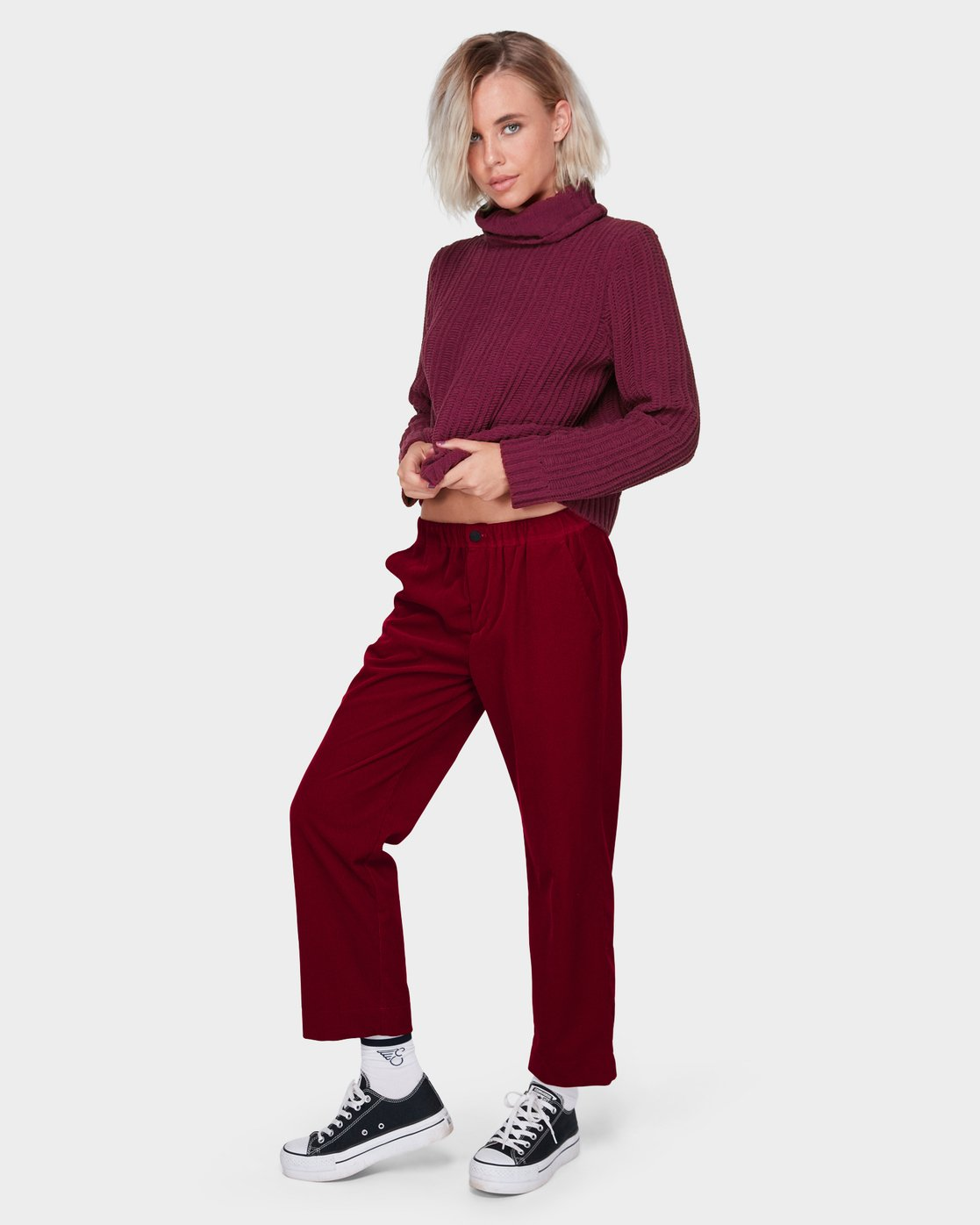 2 ROSABELLA PANT Red 288243 Element