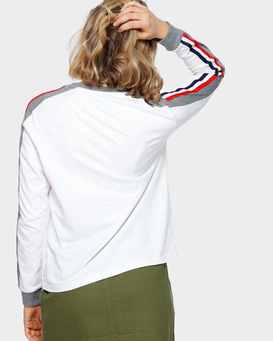 1 EVE LONG SLEEVE TEE White 293051 Element