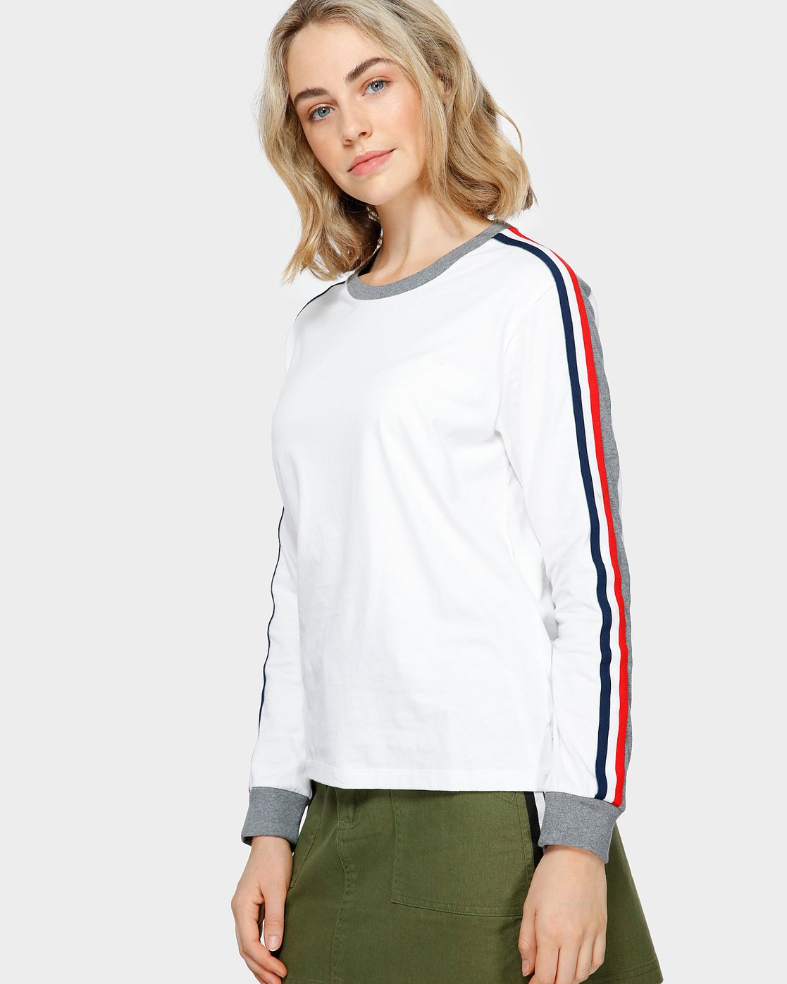 2 EVE LONG SLEEVE TEE White 293051 Element