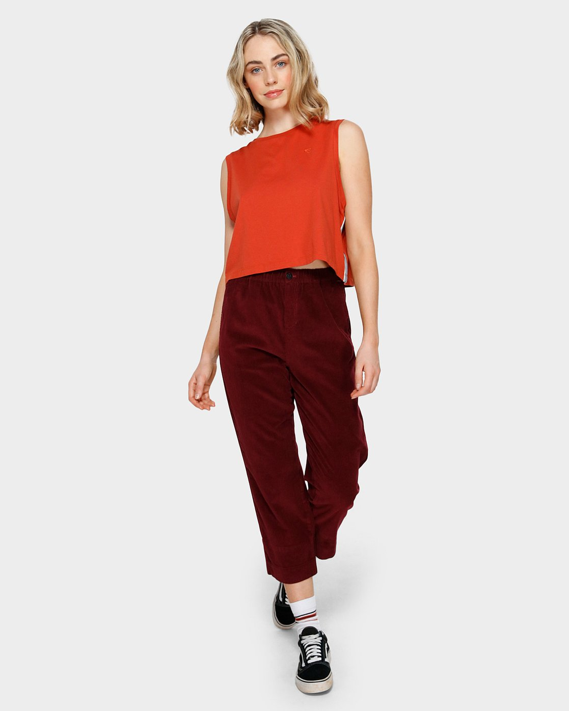 3 ABIGAIL PANT Red 293241 Element