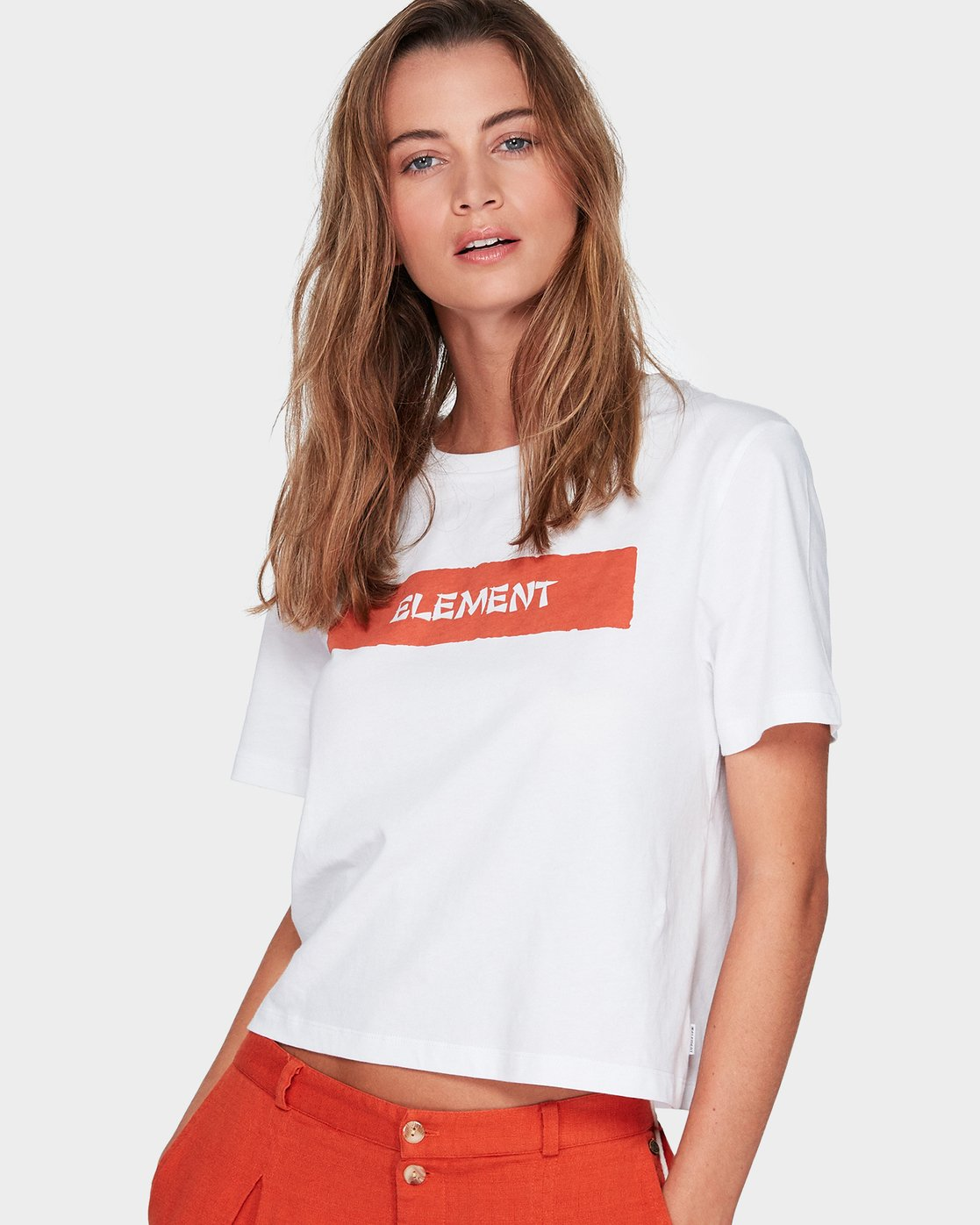 0 GET BACK TEE White 294001 Element