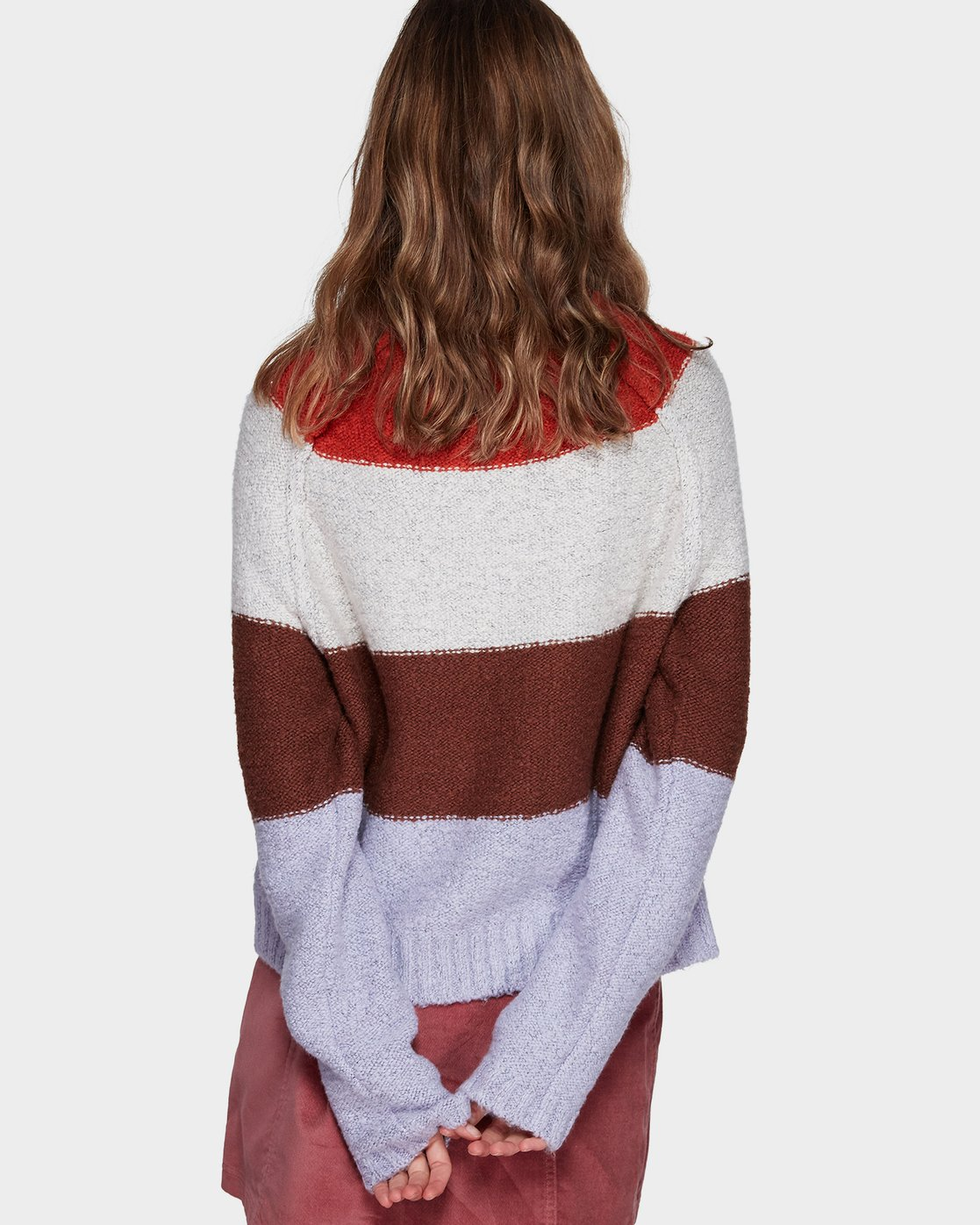 1 BORDERLINE SWEATER  296425 Element