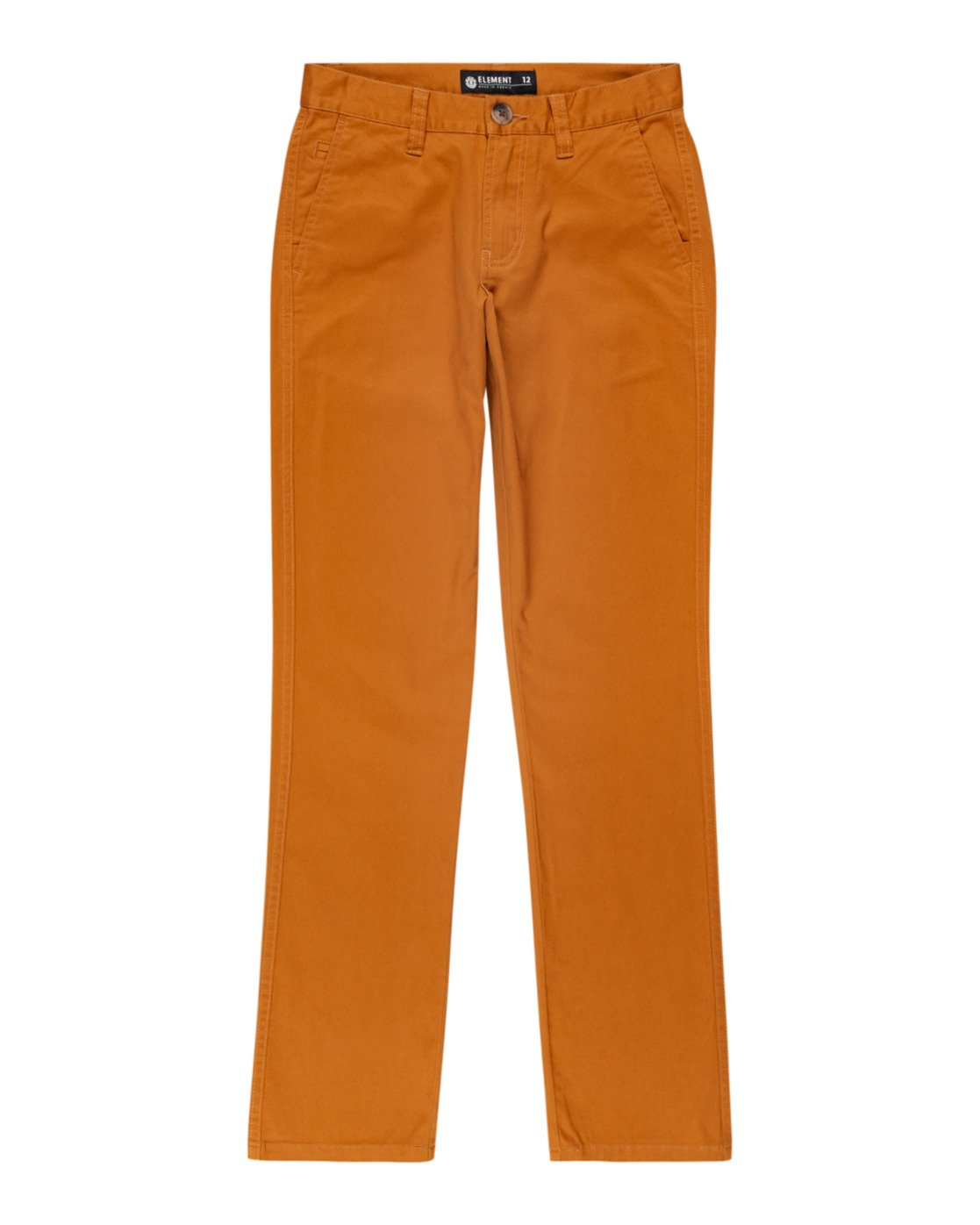 0 Boys' Howland Classic Chino Pant Brown ALBNP00104 Element