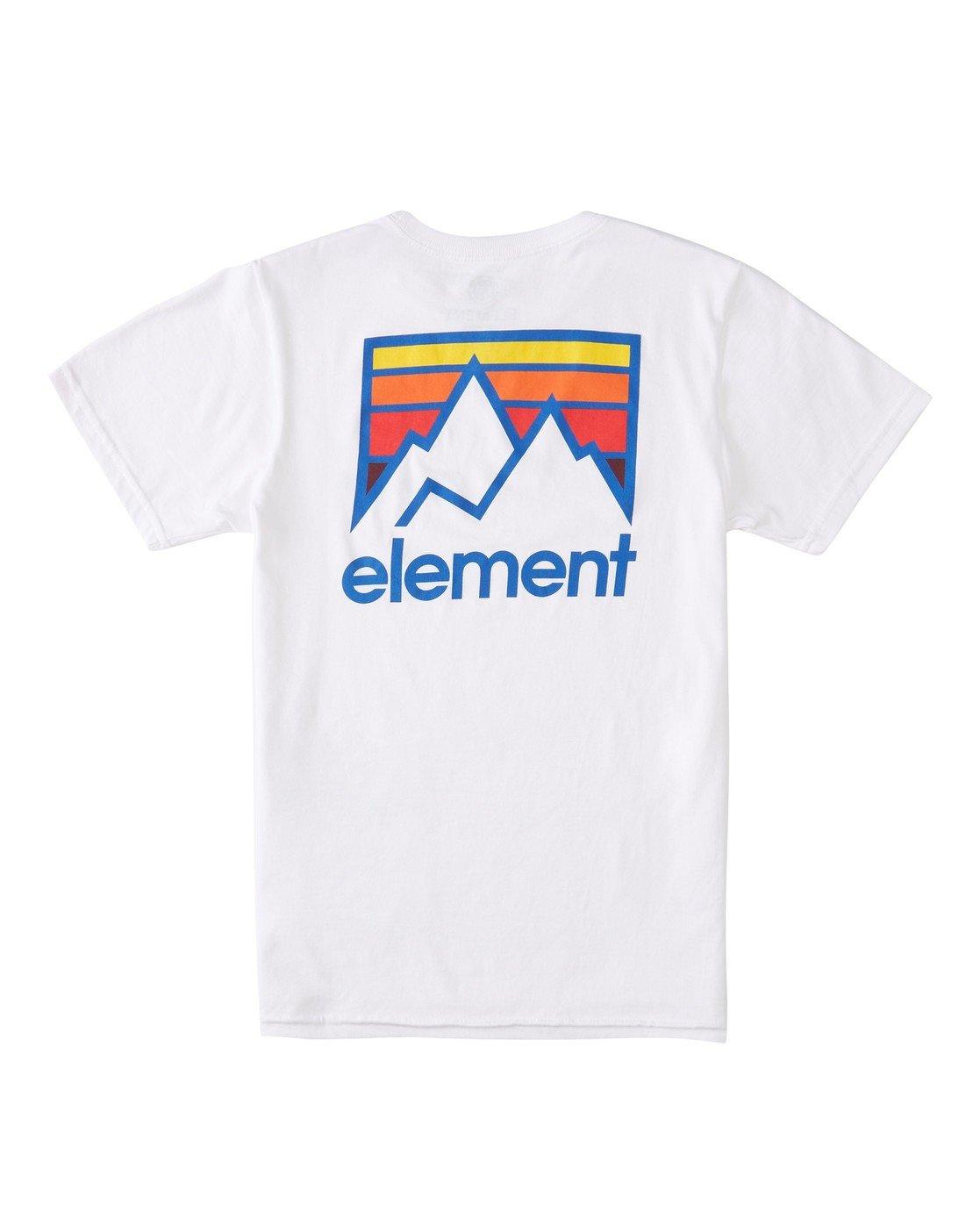 1 Boys' Joint T-Shirt White ALBZT00129 Element
