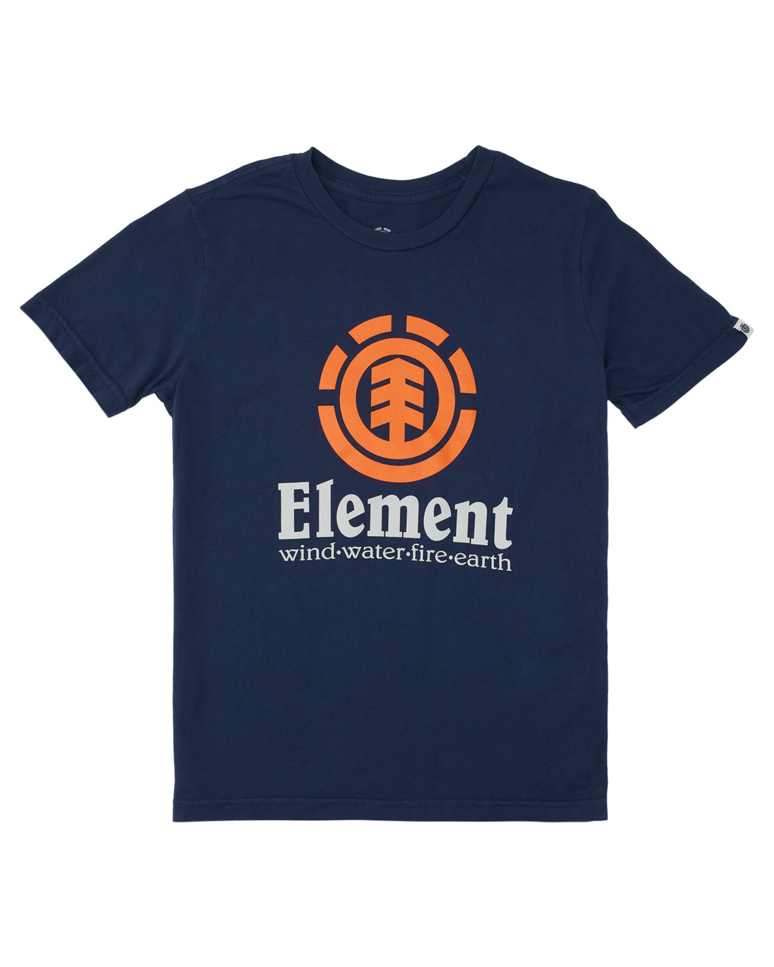 0 Boys' Vertical Short Sleeve T-Shirt  ALBZT00152 Element