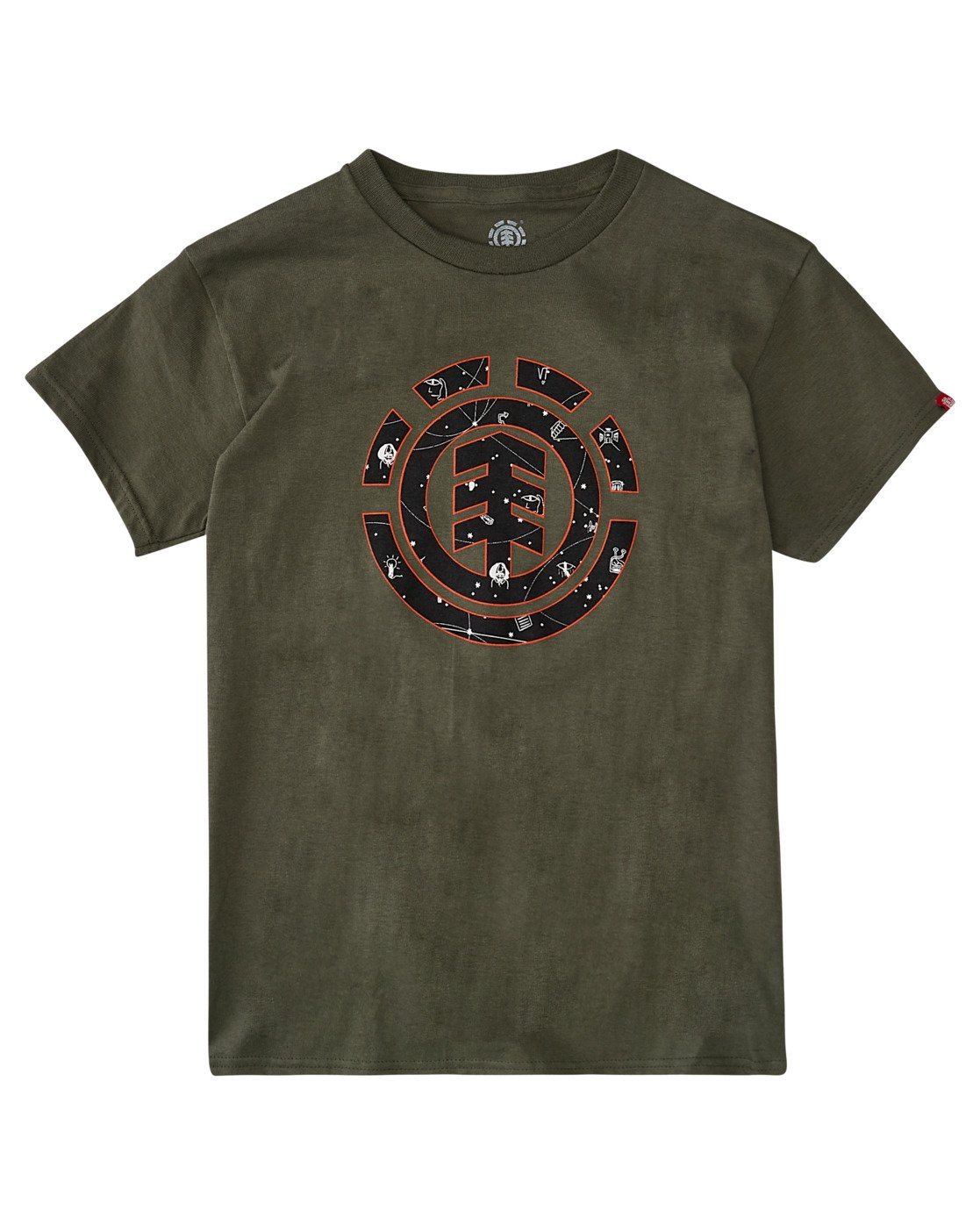 0 Boys' Cookie Galaxy Short Sleeve T-Shirt  ALBZT00157 Element