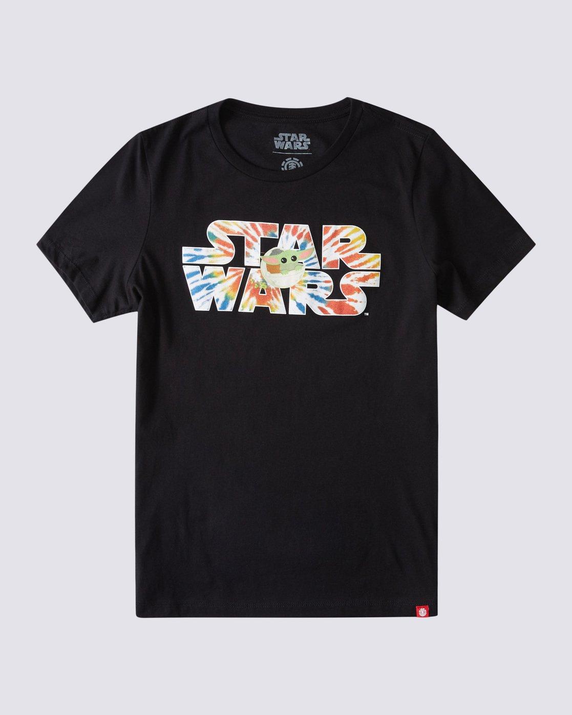 0 Women's Star Wars™ x Element Tie Dye T-Shirt Blue ALJZT00139 Element