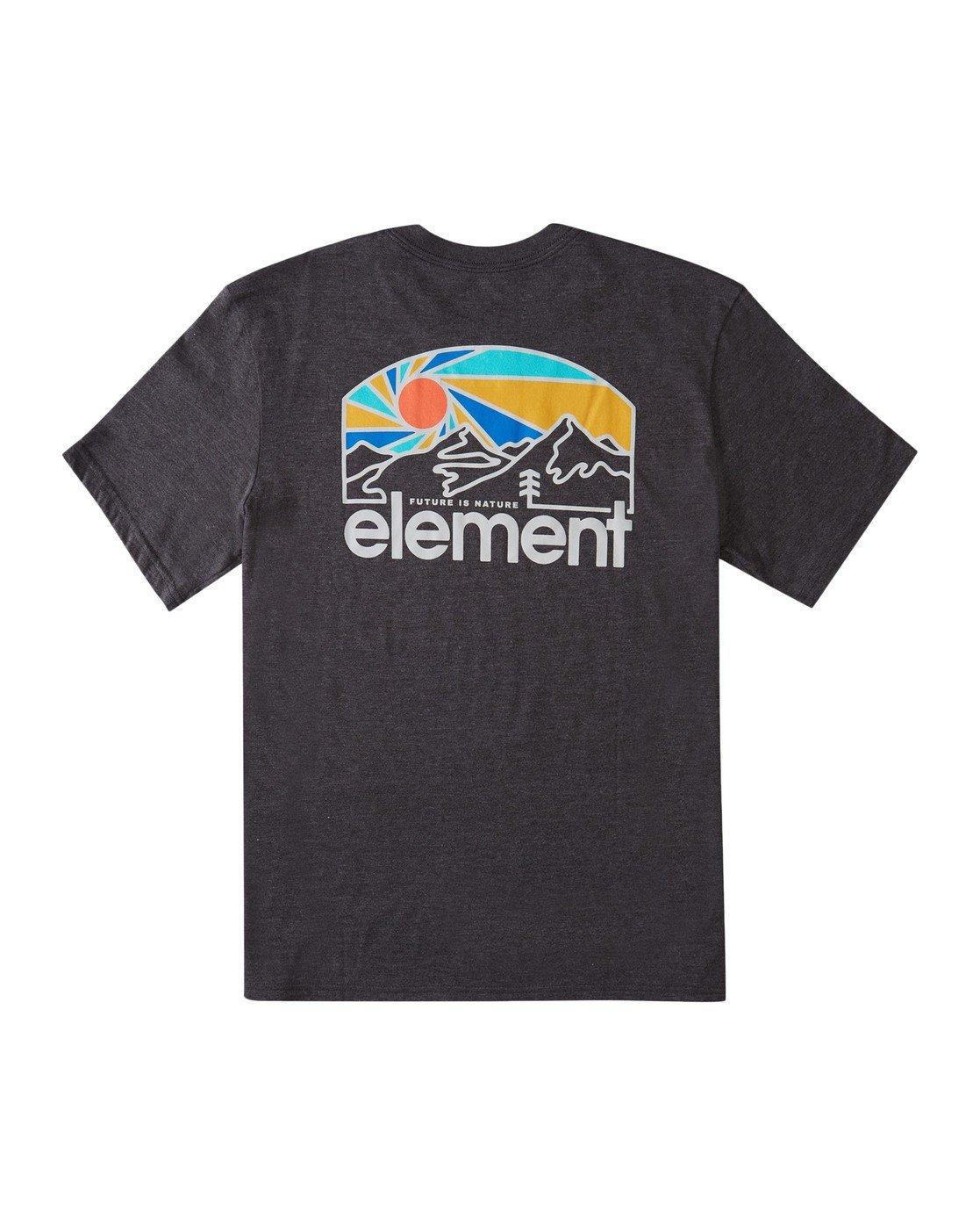 0 Sunnett T-Shirt Grey ALMZT00102 Element