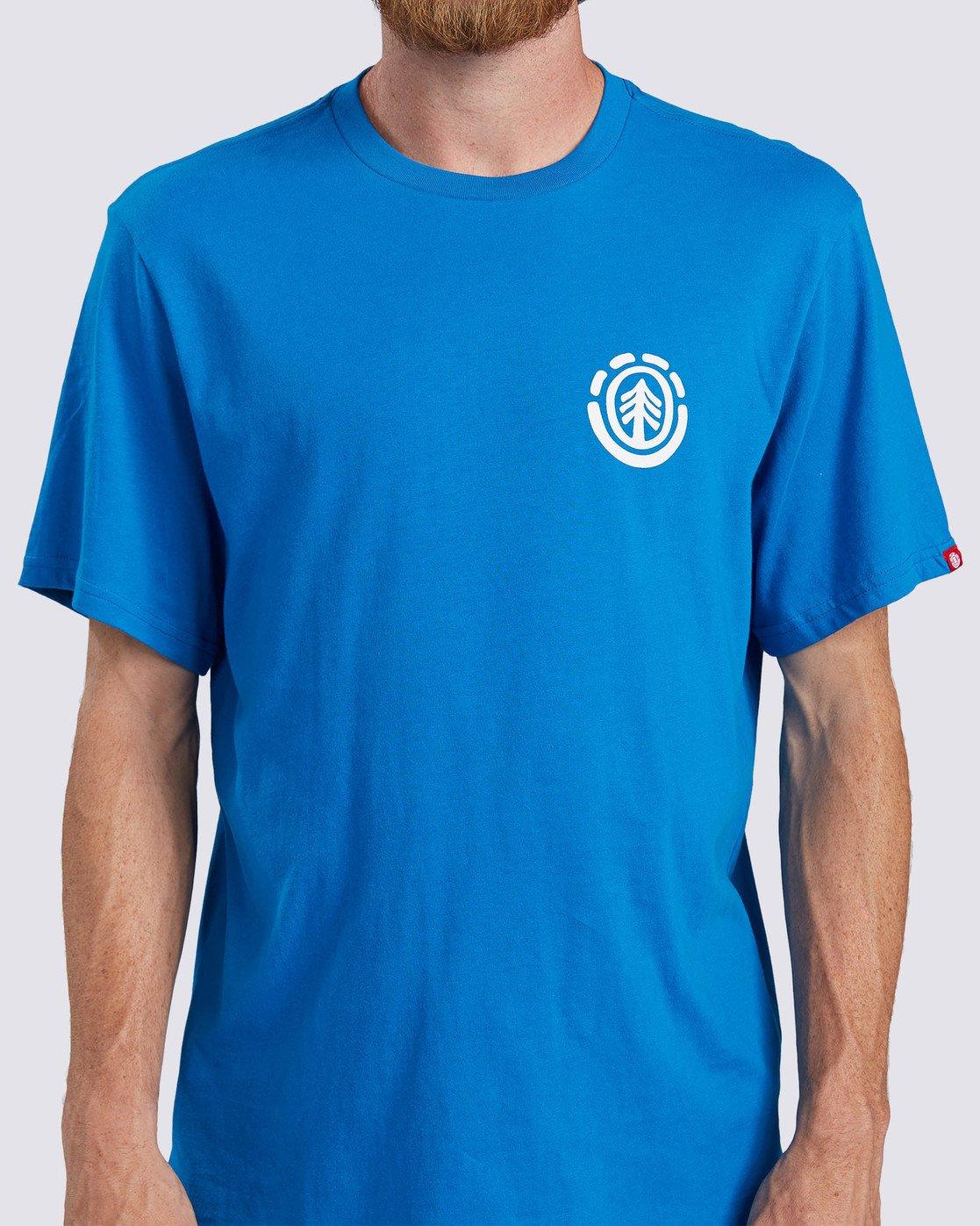 5 Balmor T-Shirt Blue ALMZT00106 Element