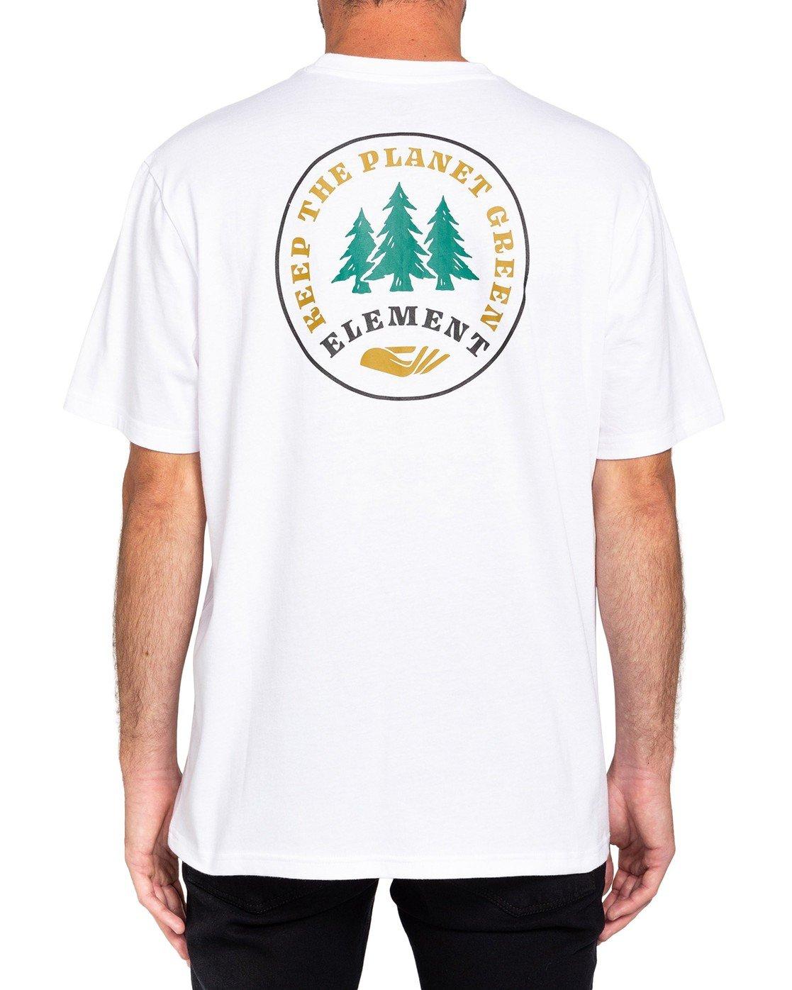0 Spera T-Shirt White ALMZT00111 Element