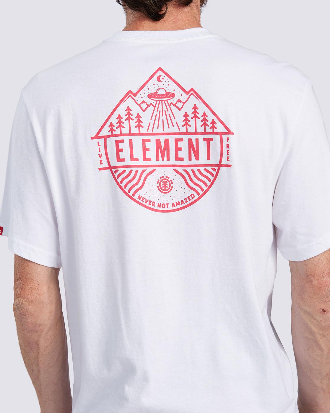 3 Howerton T-Shirt White ALMZT00116 Element