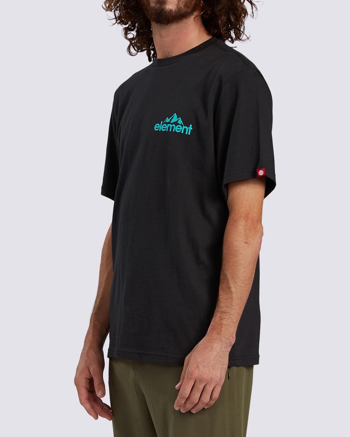 2 Duggar Chest T-Shirt Blue ALMZT00125 Element