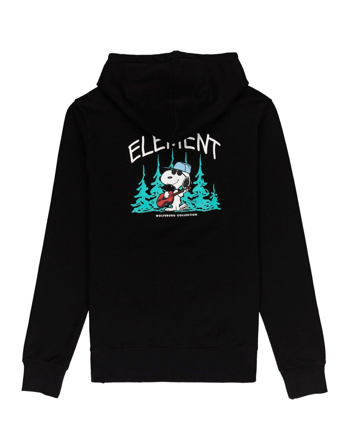 0 Peanuts Peanuts x Element Good Times Hoodie Blue ALYFT00125 Element