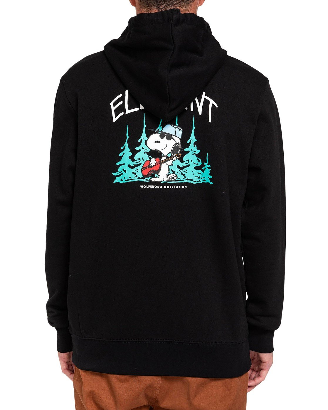2 Peanuts Peanuts x Element Good Times Hoodie Blue ALYFT00125 Element