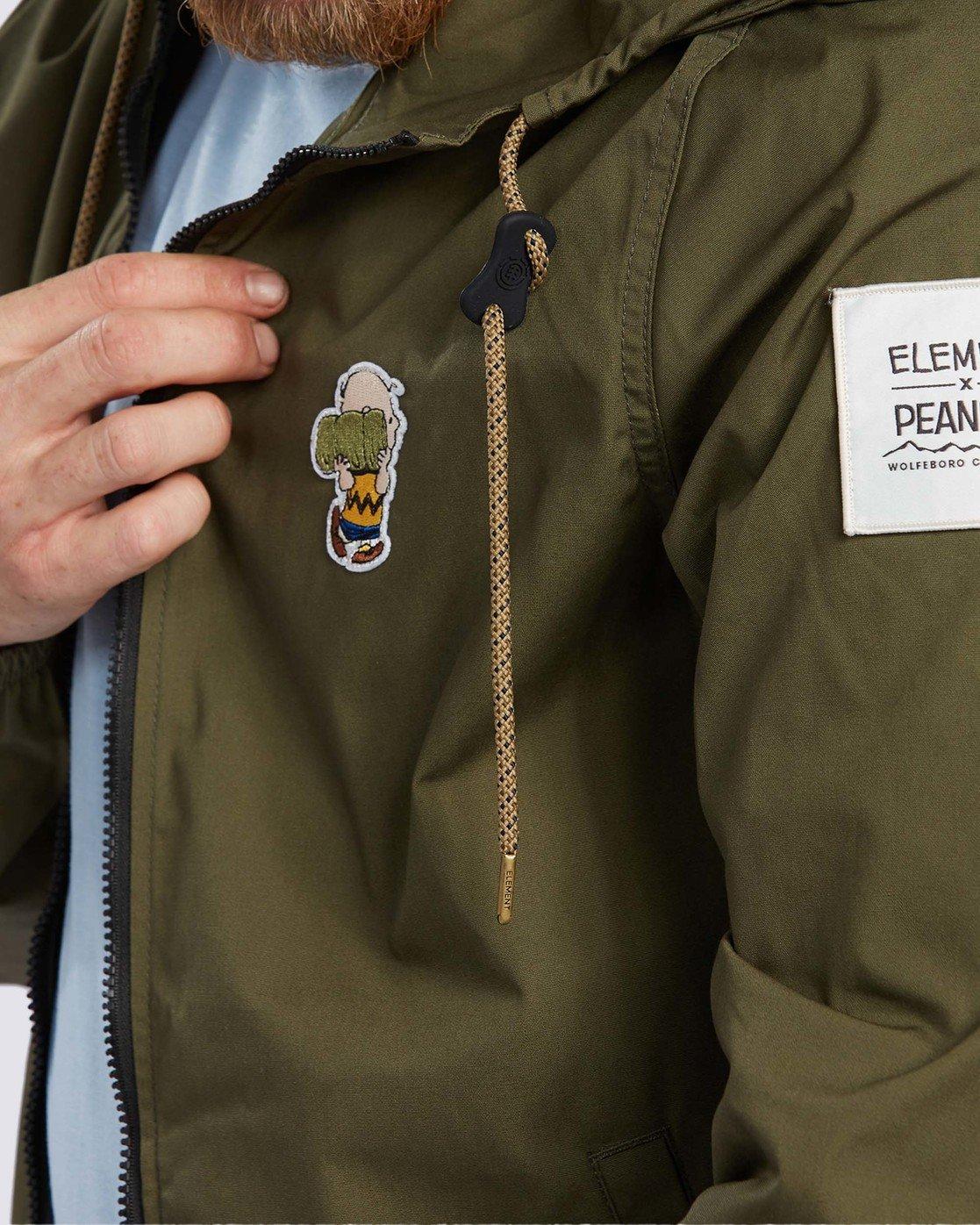 4 Peanuts x Element Alder Jacket Beige ALYJK00109 Element