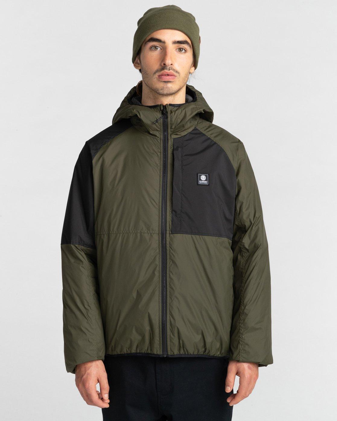 1 Wolfe Jacket Green ALYJK00151 Element