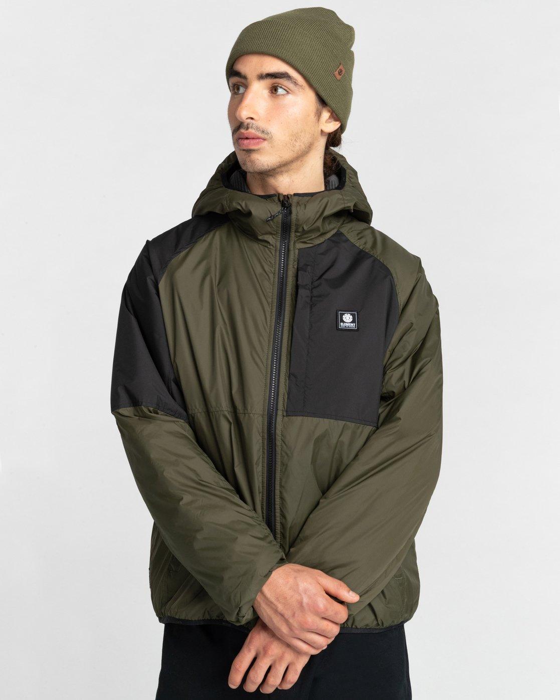 6 Wolfe Jacket Green ALYJK00151 Element