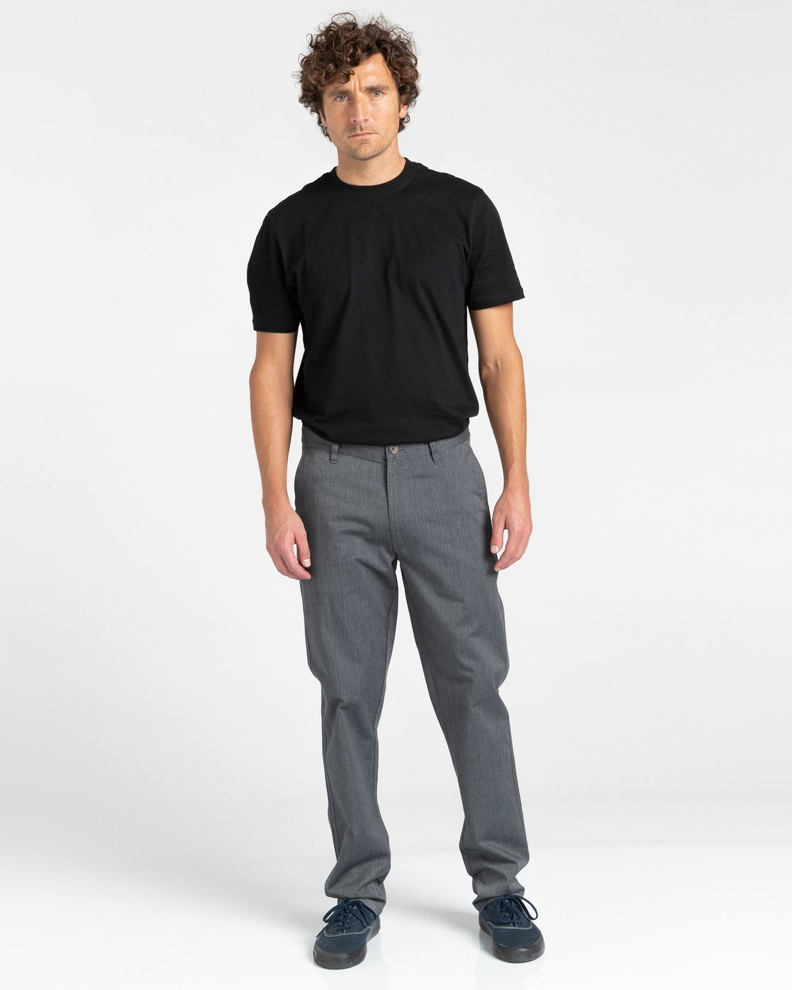 4 Howland Classic Chino Pant Grey ALYNP00105 Element