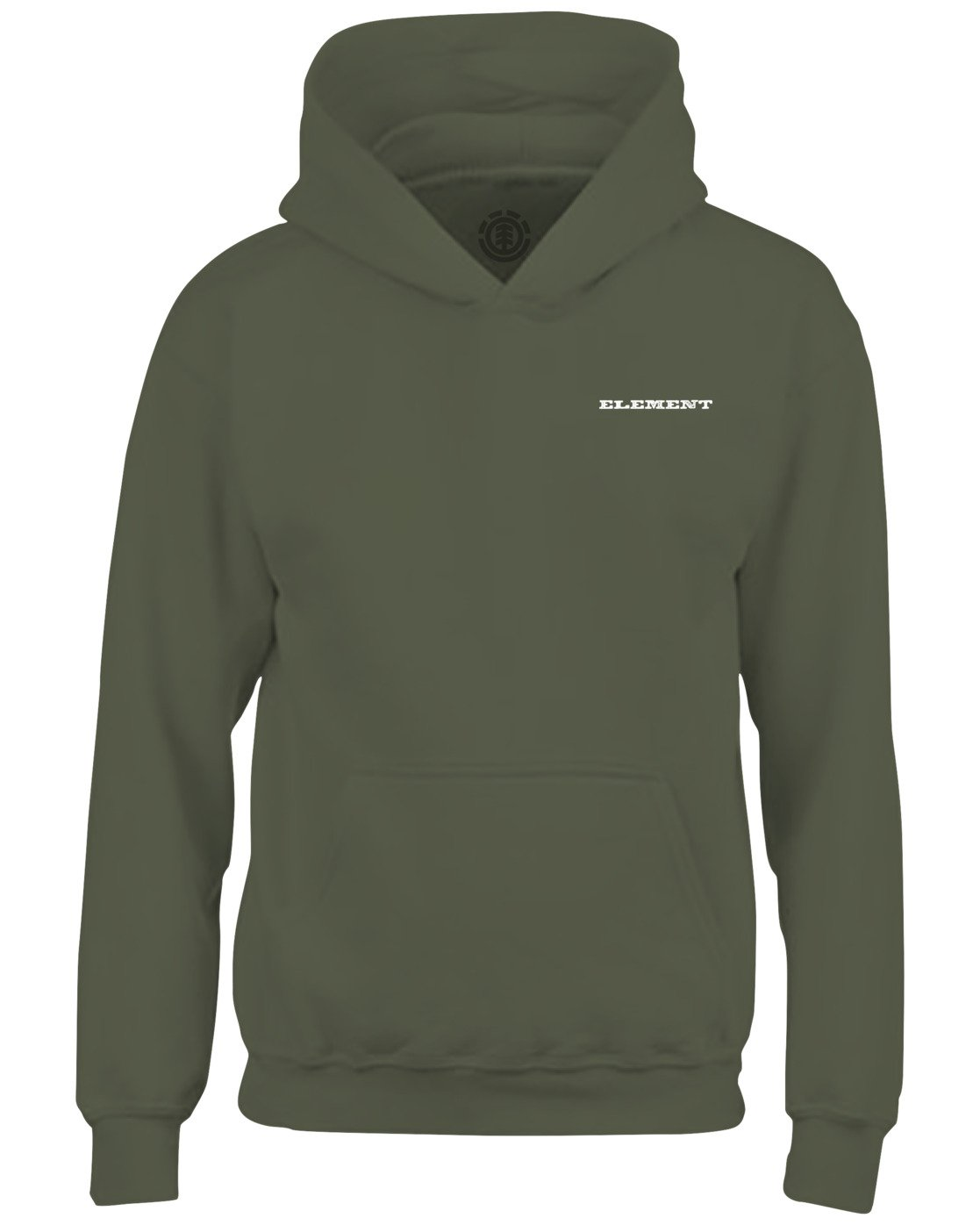 2 Longley Pigment Hoodie Green ALYSF00100 Element