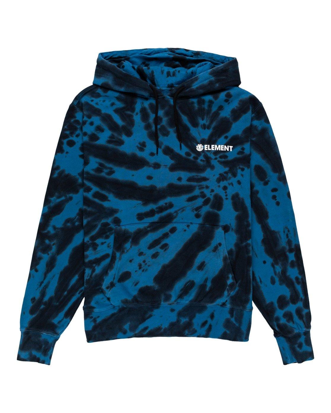 0 Blazin' Chest Tie-Dye Hoodie Blue ALYSF00114 Element