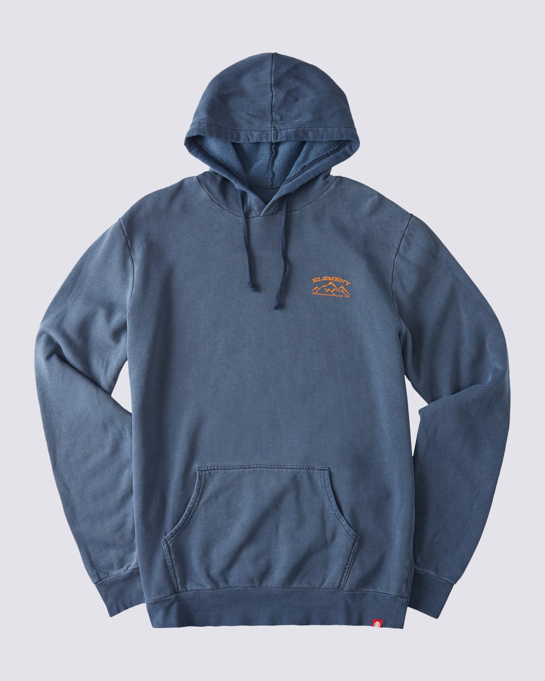 0 Snow Pigment Hoodie Blue ALYSF00135 Element