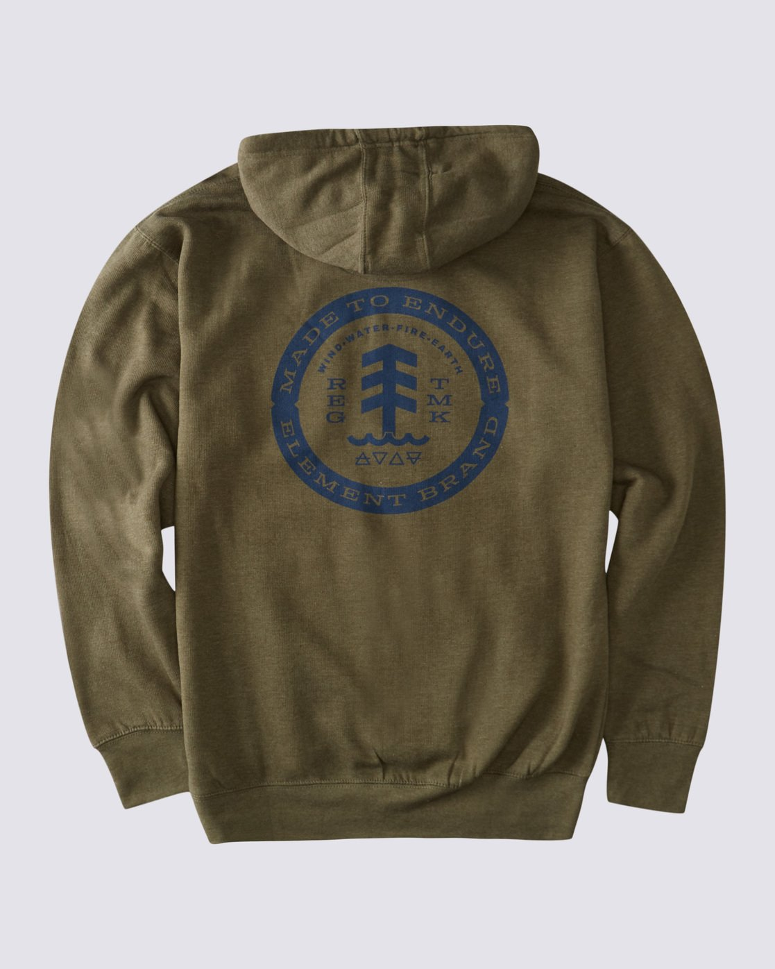 0 Notches Hoodie Green ALYSF00138 Element