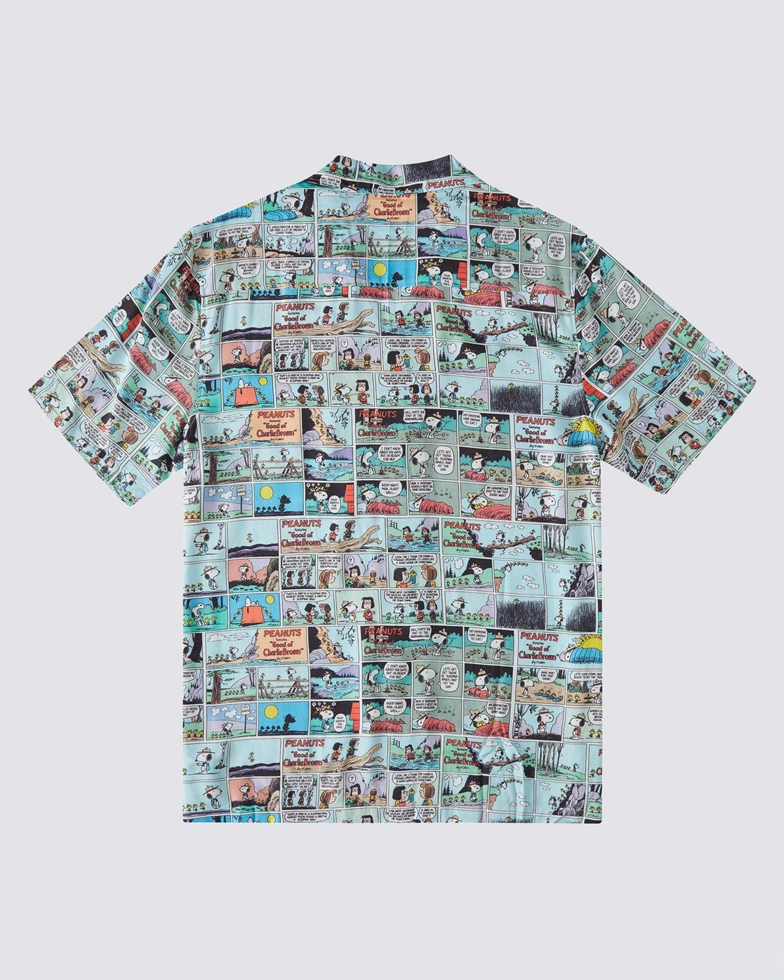 1 Peanuts x Element Marshmallow Button-Down Shirt Blue ALYWT00106 Element