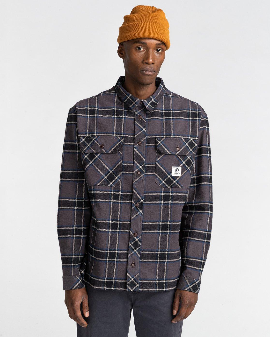1 Wentworth Flannel Shirt  ALYWT00116 Element