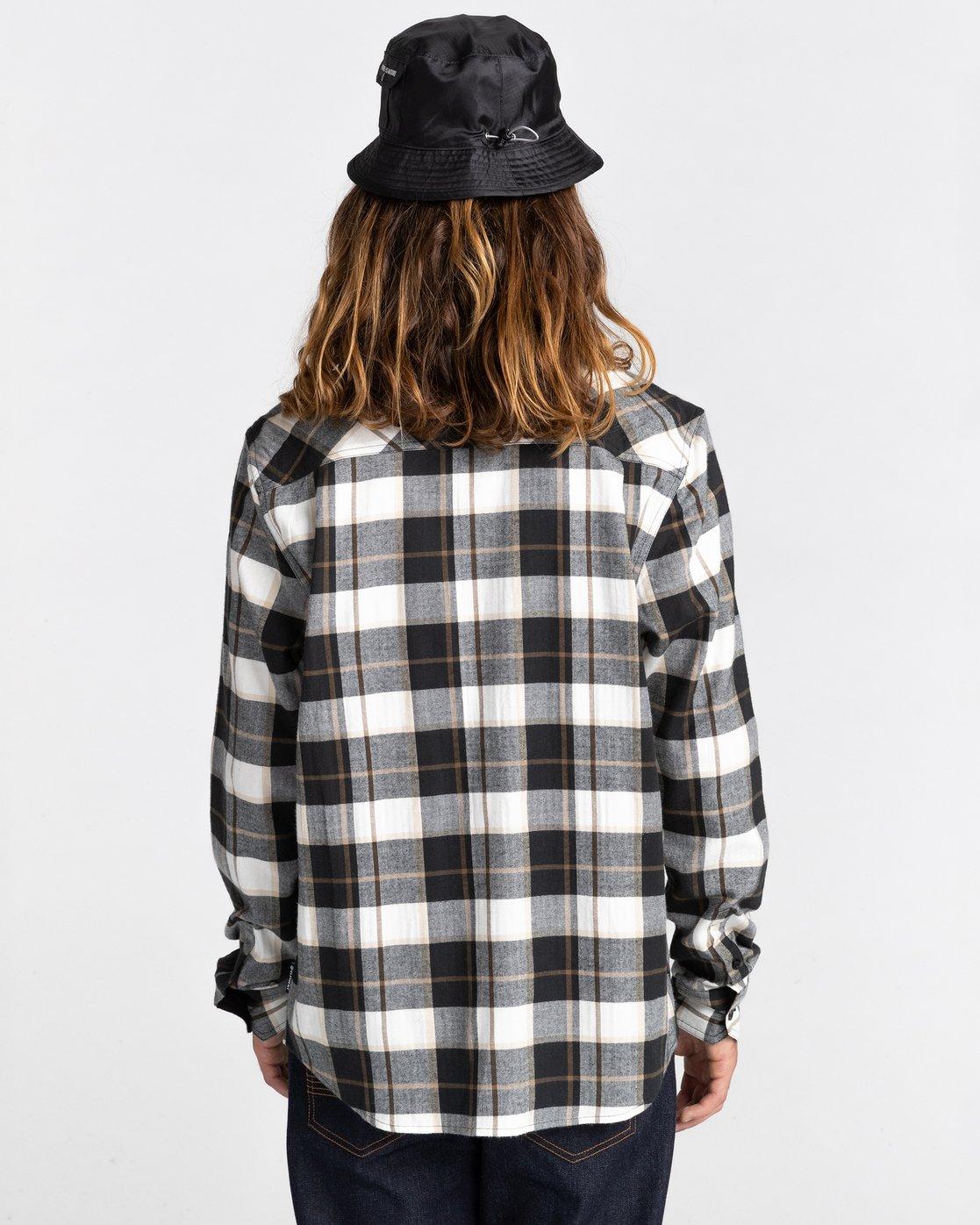 8 Lumber Long Sleeve Flannel Shirt  ALYWT00118 Element