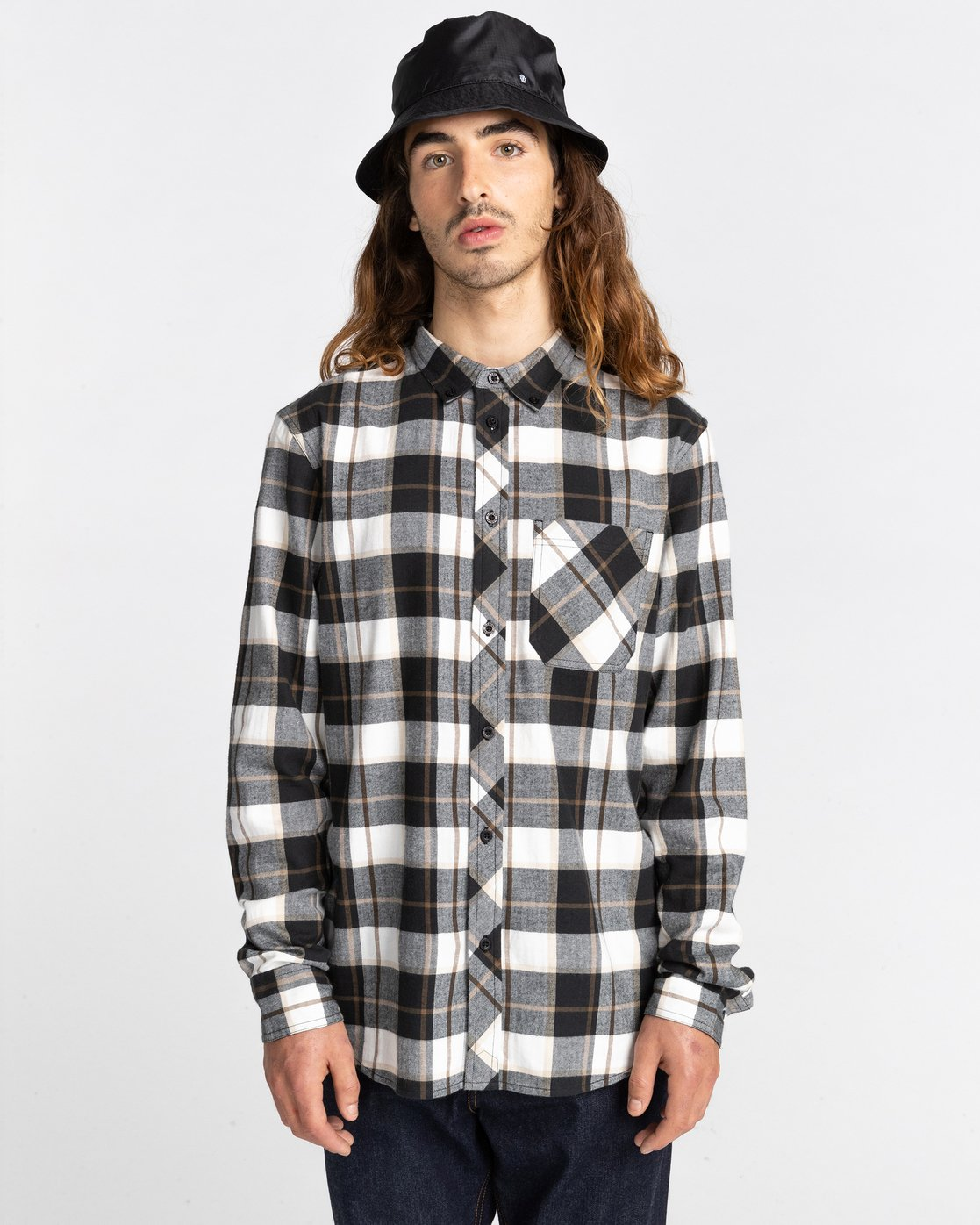 2 Lumber Long Sleeve Flannel Shirt  ALYWT00118 Element