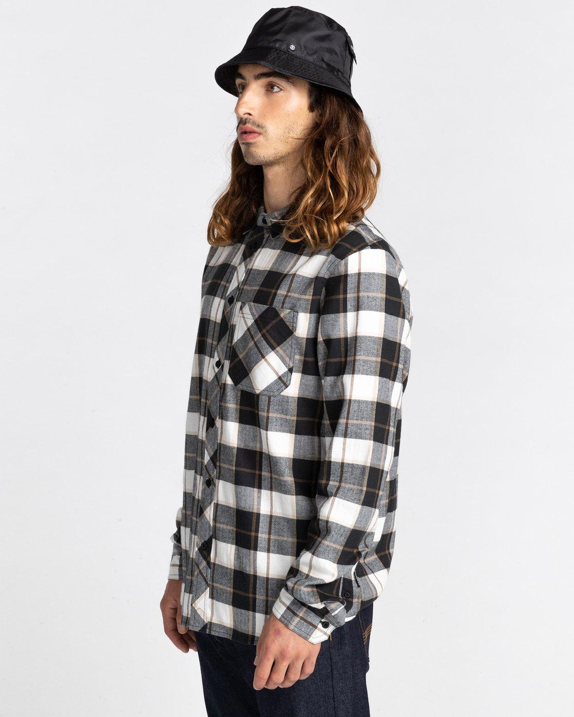 3 Lumber Long Sleeve Flannel Shirt  ALYWT00118 Element