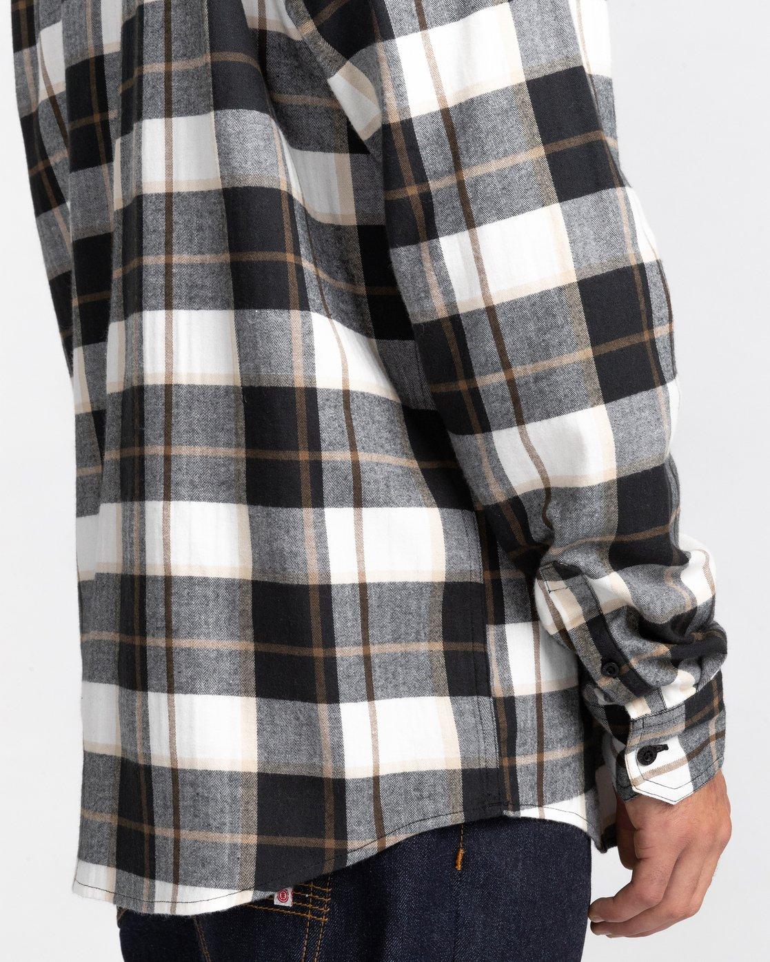 5 Lumber Long Sleeve Flannel Shirt  ALYWT00118 Element