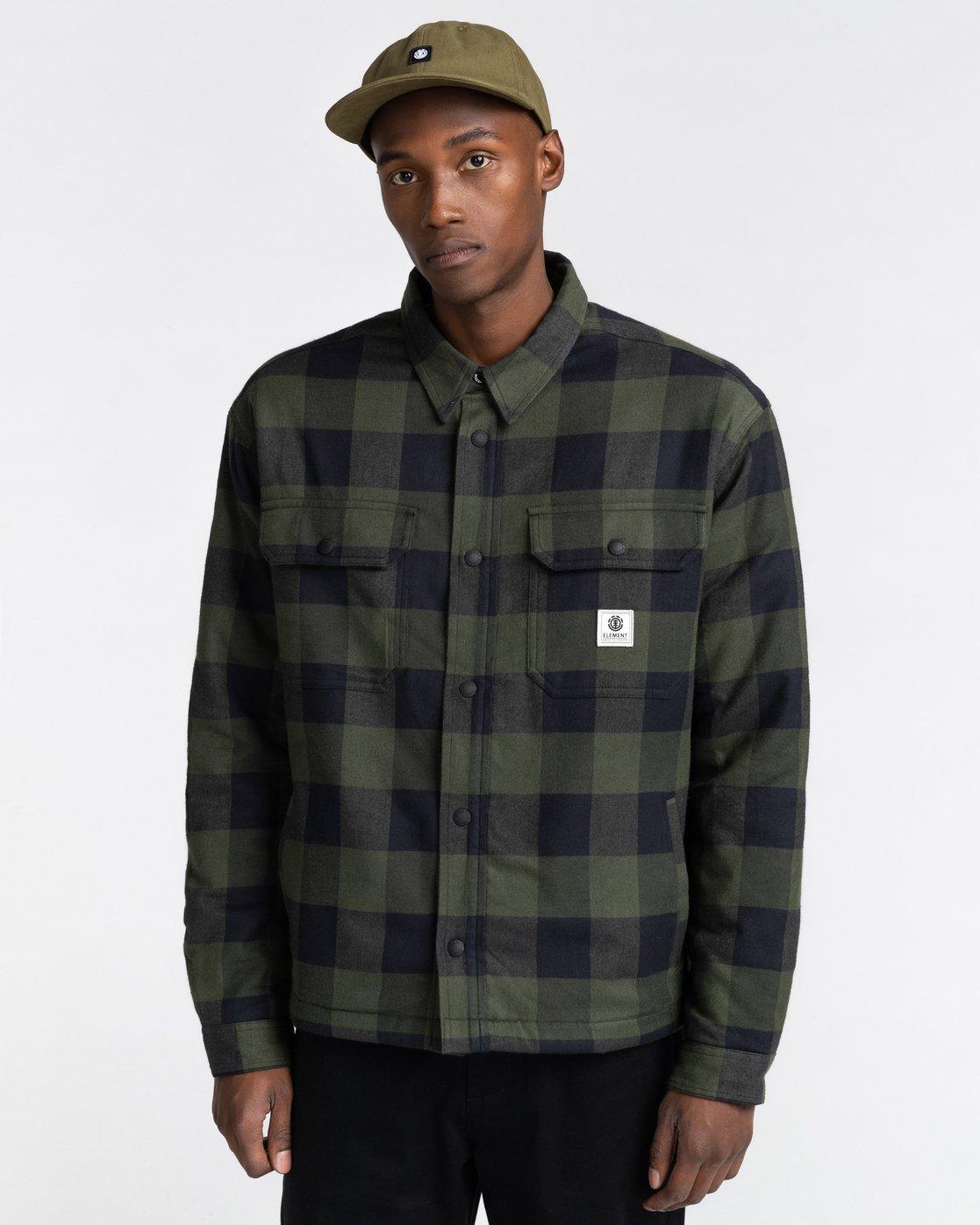 1 Mappleville Buffalo Flannel Jacket  ALYWT00119 Element