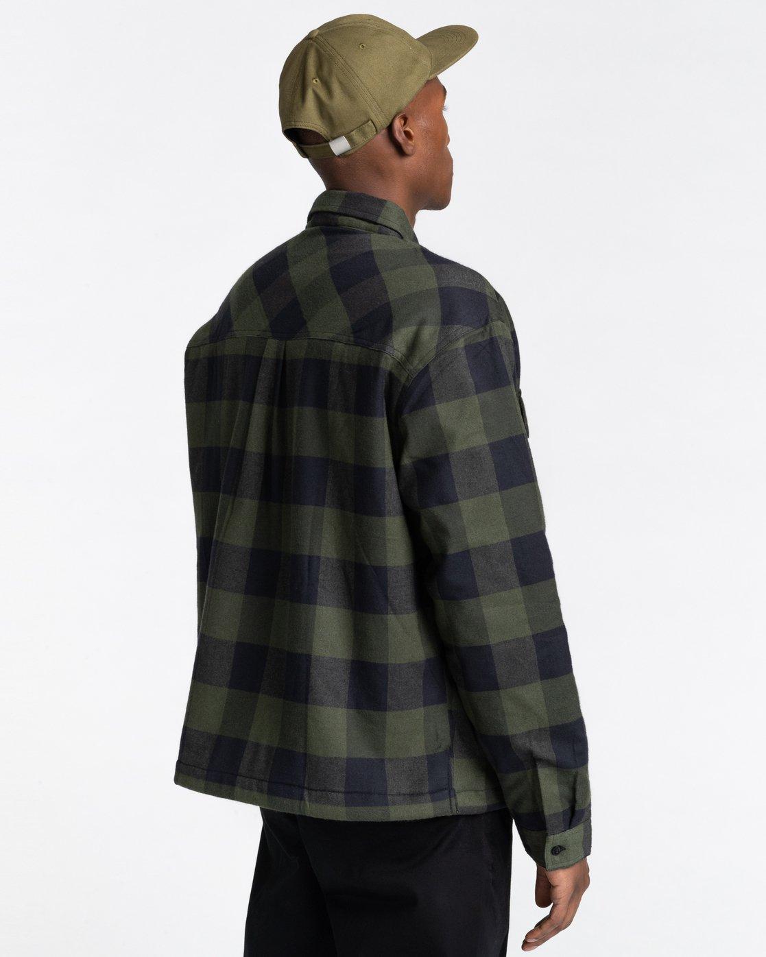 3 Mappleville Buffalo Flannel Jacket  ALYWT00119 Element