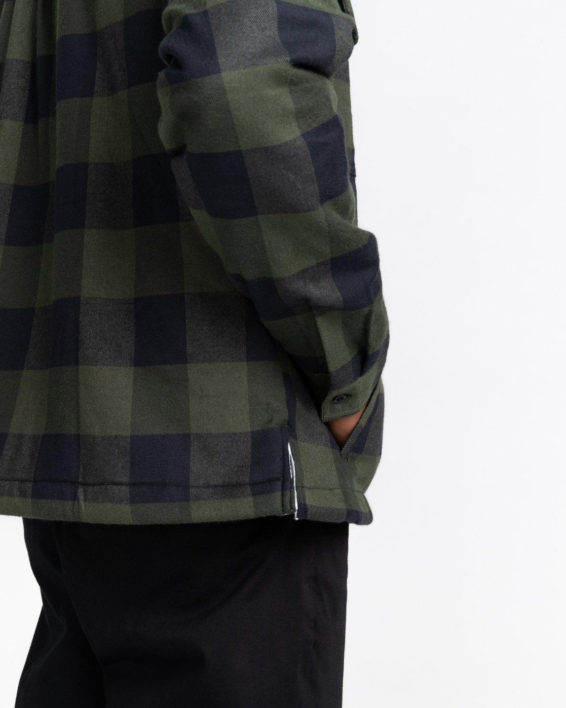 4 Mappleville Buffalo Flannel Jacket  ALYWT00119 Element