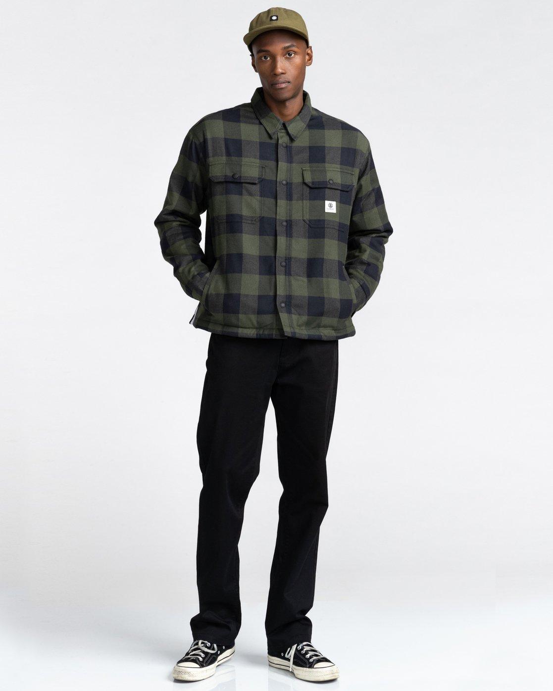 5 Mappleville Buffalo Flannel Jacket  ALYWT00119 Element
