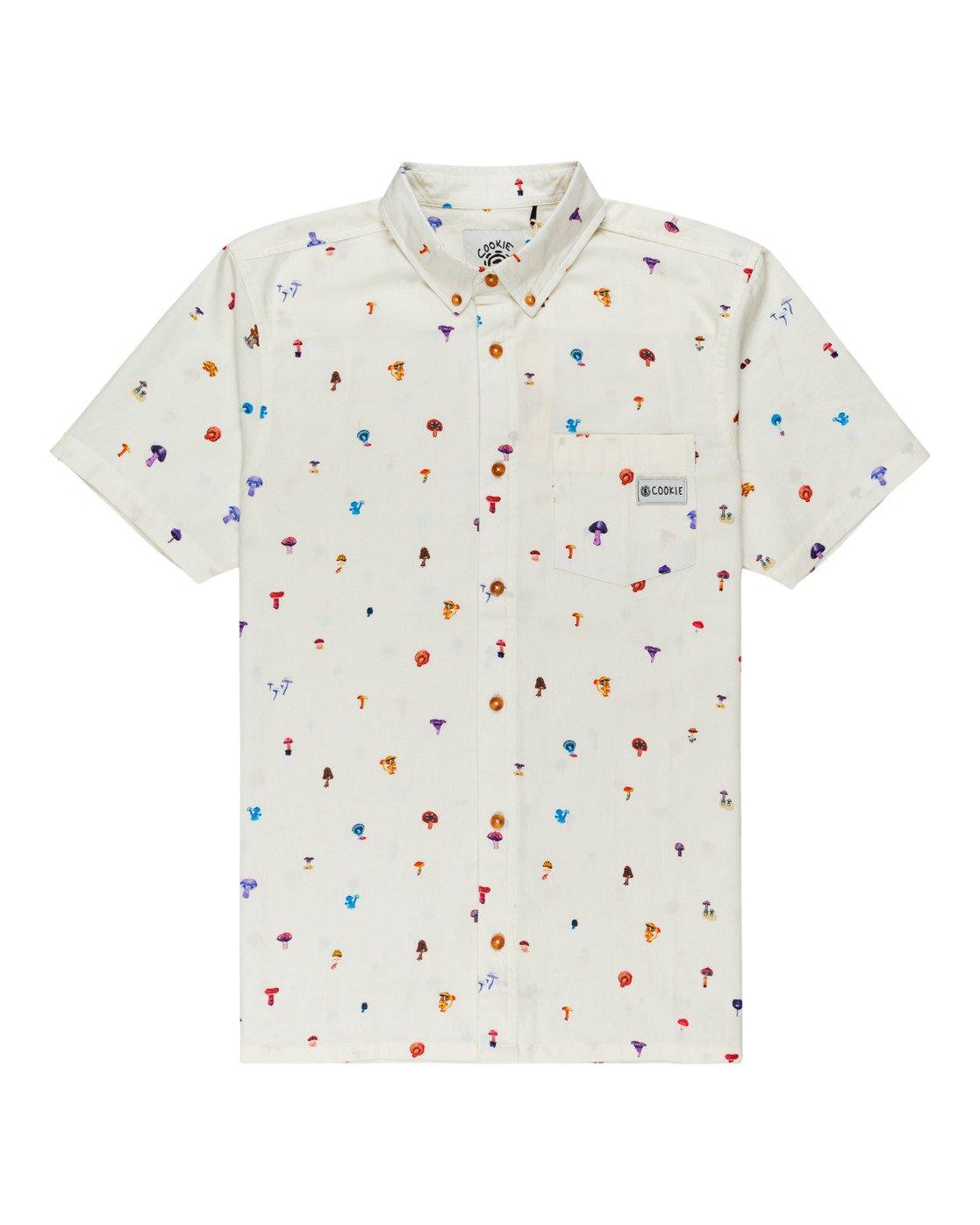 0 Shrooms Skyway Short Sleeve Shirt  ALYWT00123 Element