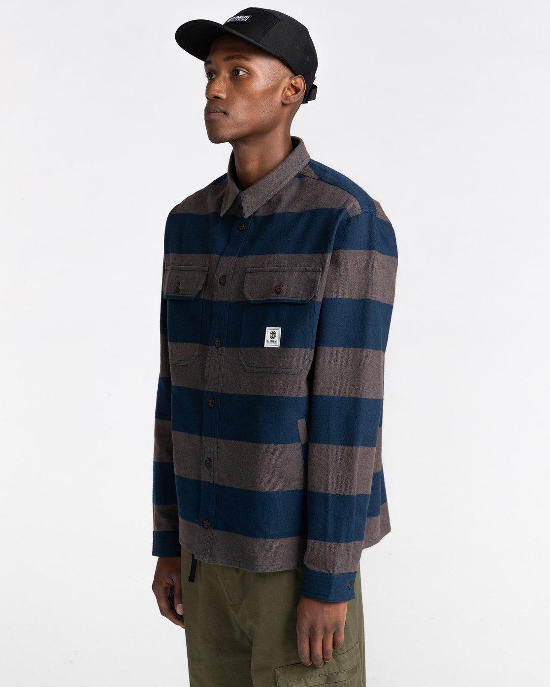 2 Wentworth Stripes Flannel Shirt  ALYWT00125 Element