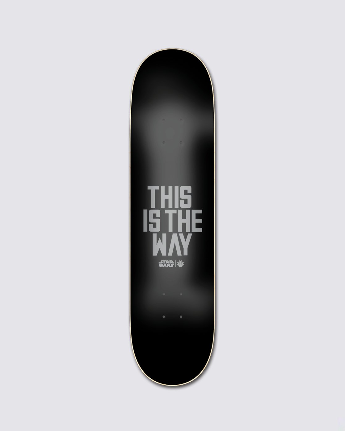 4 Star Wars™ Beskar Skateboard Deck  ALYXD00169 Element