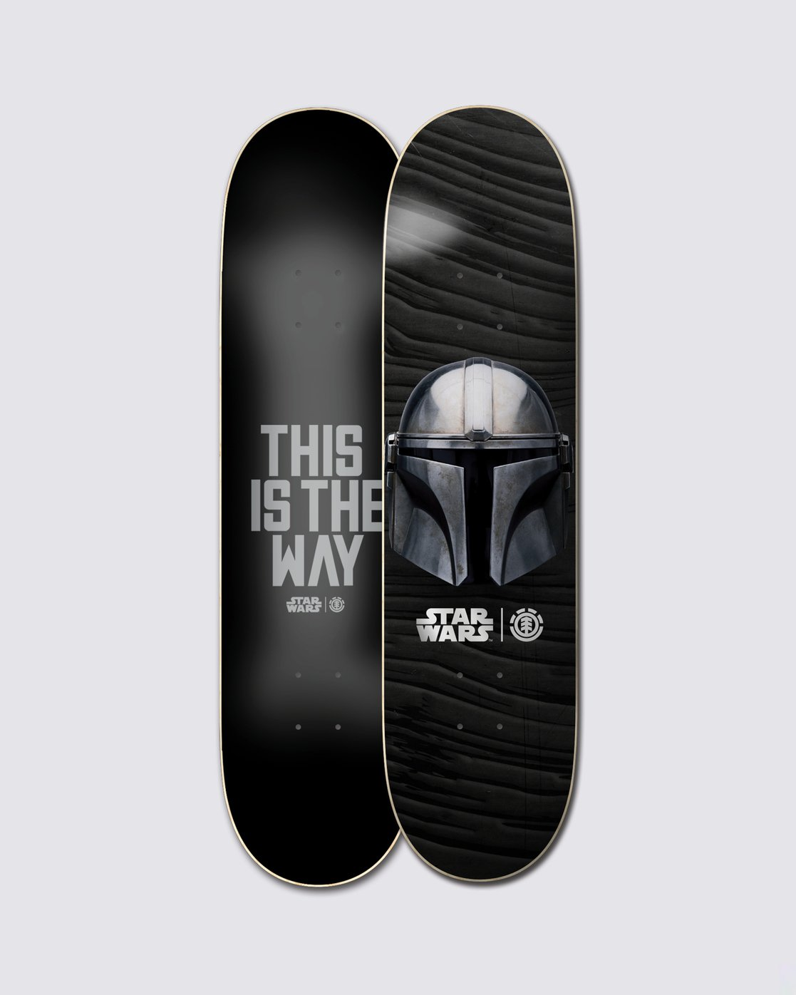 0 Star Wars™ Beskar Skateboard Deck  ALYXD00169 Element