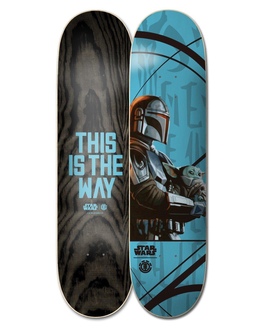 3 Star Wars™ Mando Child Skateboard Deck  ALYXD00171 Element