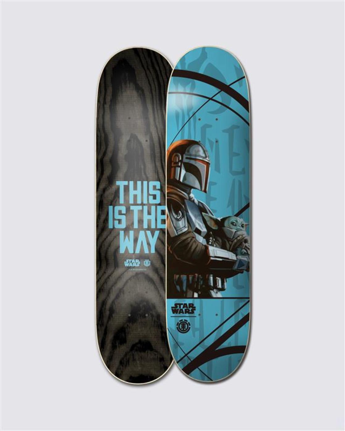 0 Star Wars™ Mando Child Skateboard Deck  ALYXD00171 Element